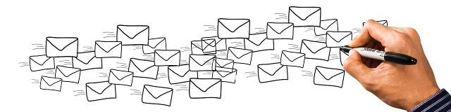 Papierhafte Briefsendungen