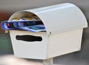 Briefkastenwerbung